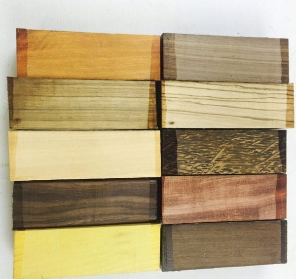 Special Wood Set - Exotic Hardwoods