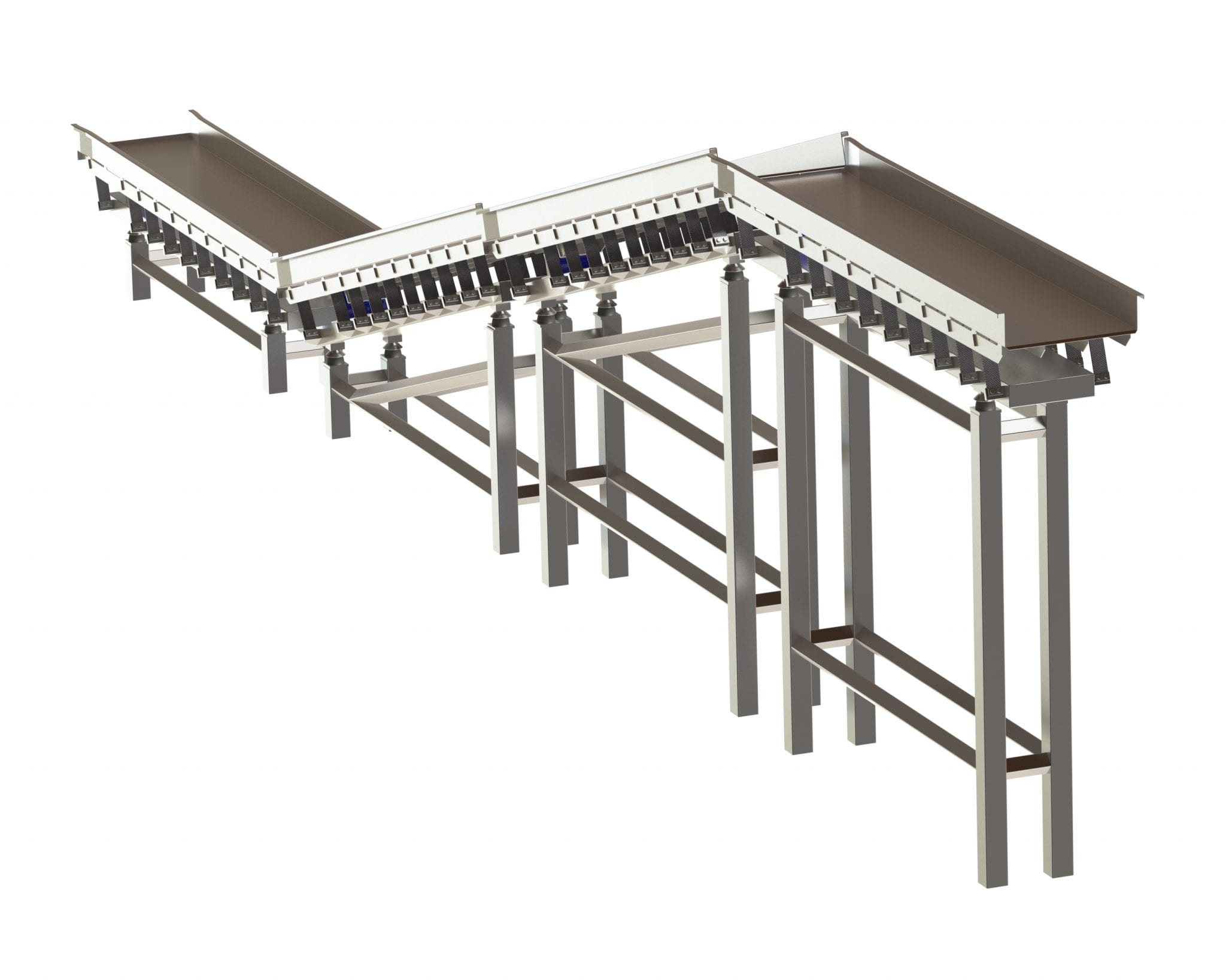 Hygienic Incline Conveyors - Cox & Plant