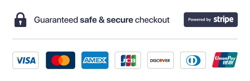 Giaranteed Safe & Secure Checkout with Brise Carwood