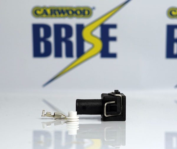 VW Single Pole Connector Plug - suitable for Brise 'AXG' type Axial Starter Motors - Carwood Brise